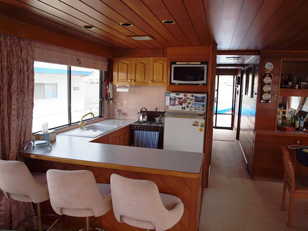 Houseboat Interior The Image Kid Has It